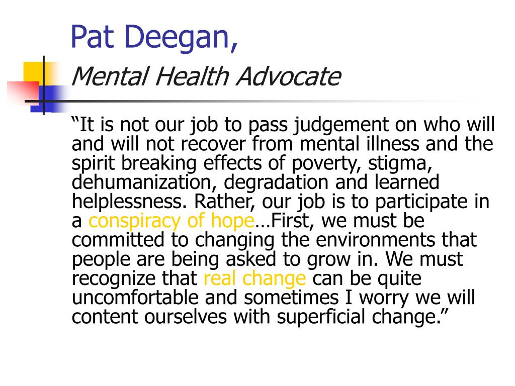 Pat Deegan,
