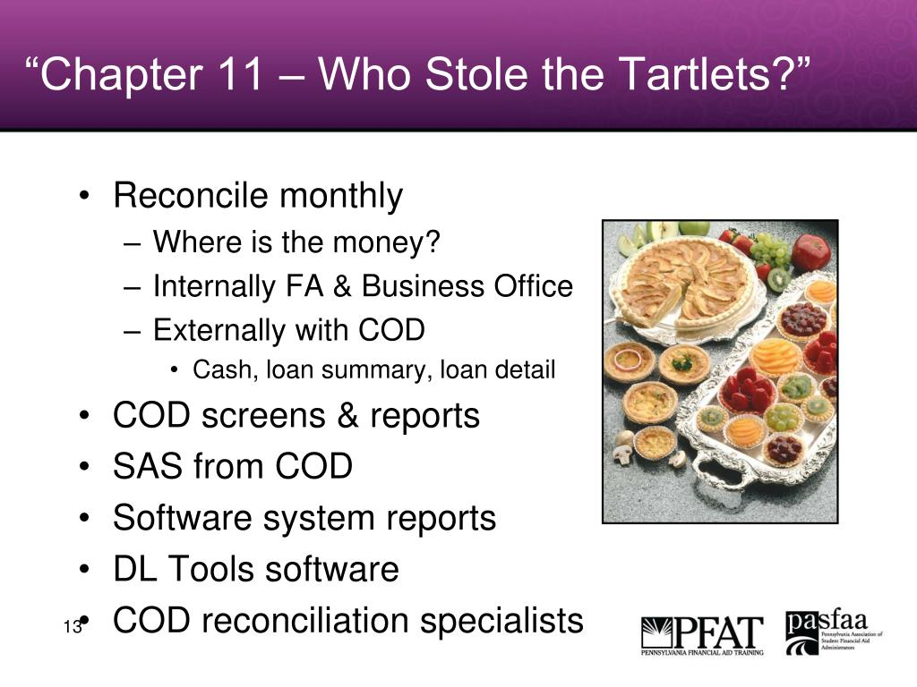 """Chapter 11 – Who Stole the Tartlets?"""