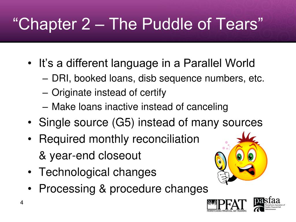 """Chapter 2 – The Puddle of Tears"""