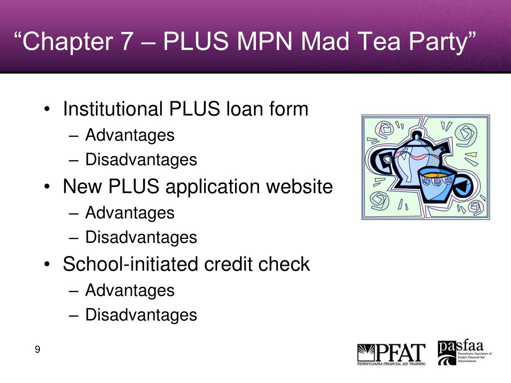"""Chapter 7 – PLUS MPN Mad Tea Party"""