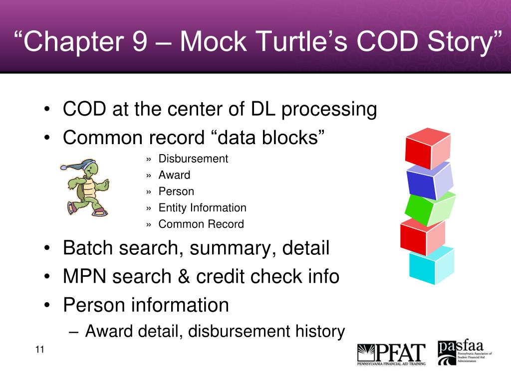 """Chapter 9 – Mock Turtle's COD Story"""