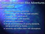 nicedays mountain bike adventures cherbourg