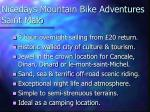nicedays mountain bike adventures saint malo