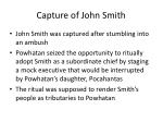 capture of john smith