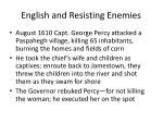 english and resisting enemies