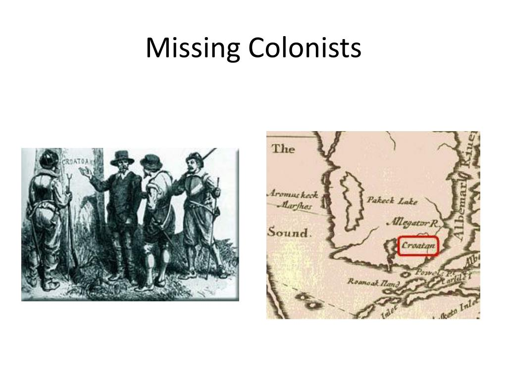 Missing Colonists