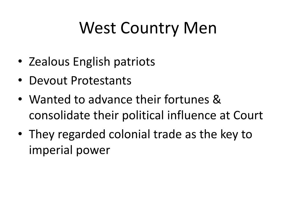 West Country Men