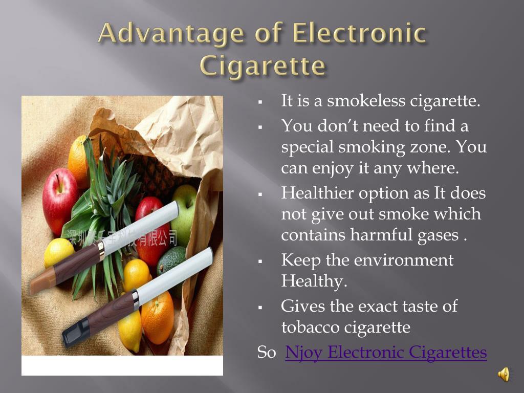 Advantage of Electronic Cigarette