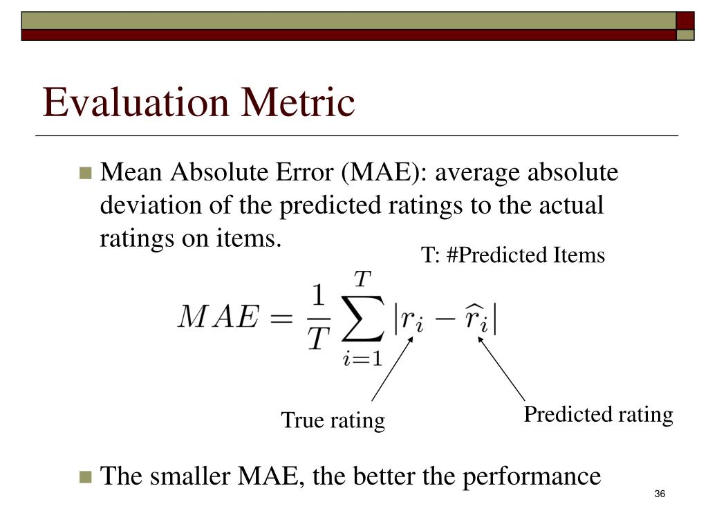 Evaluation Metric