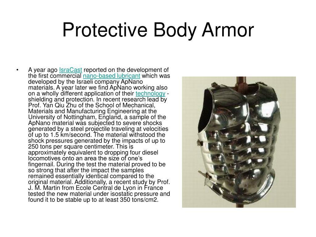 Protective Body Armor