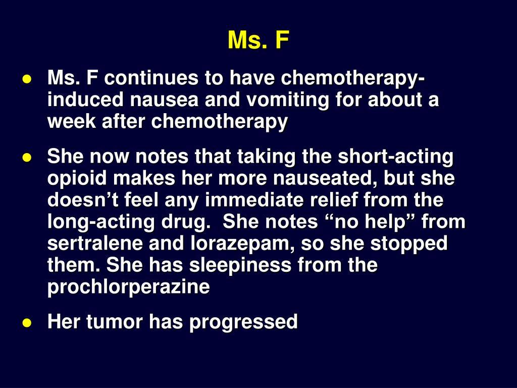 Ms. F