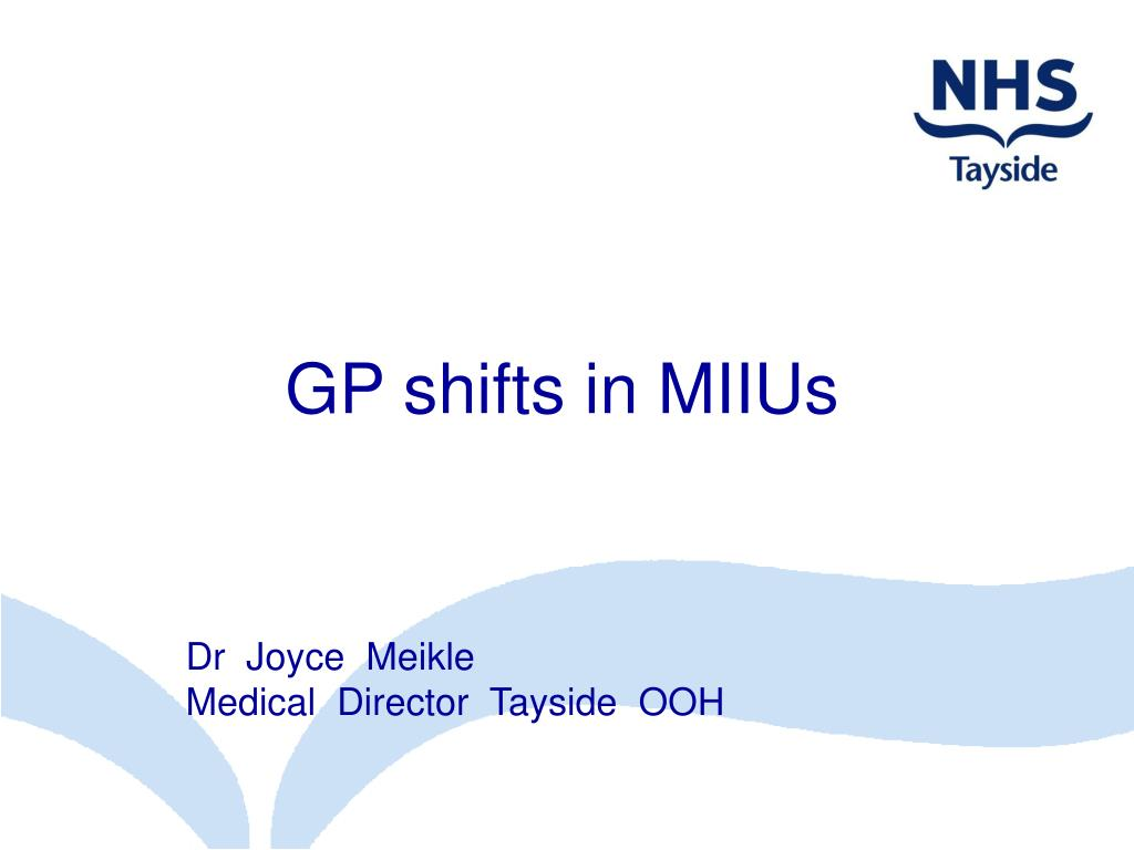 GP shifts in MIIUs
