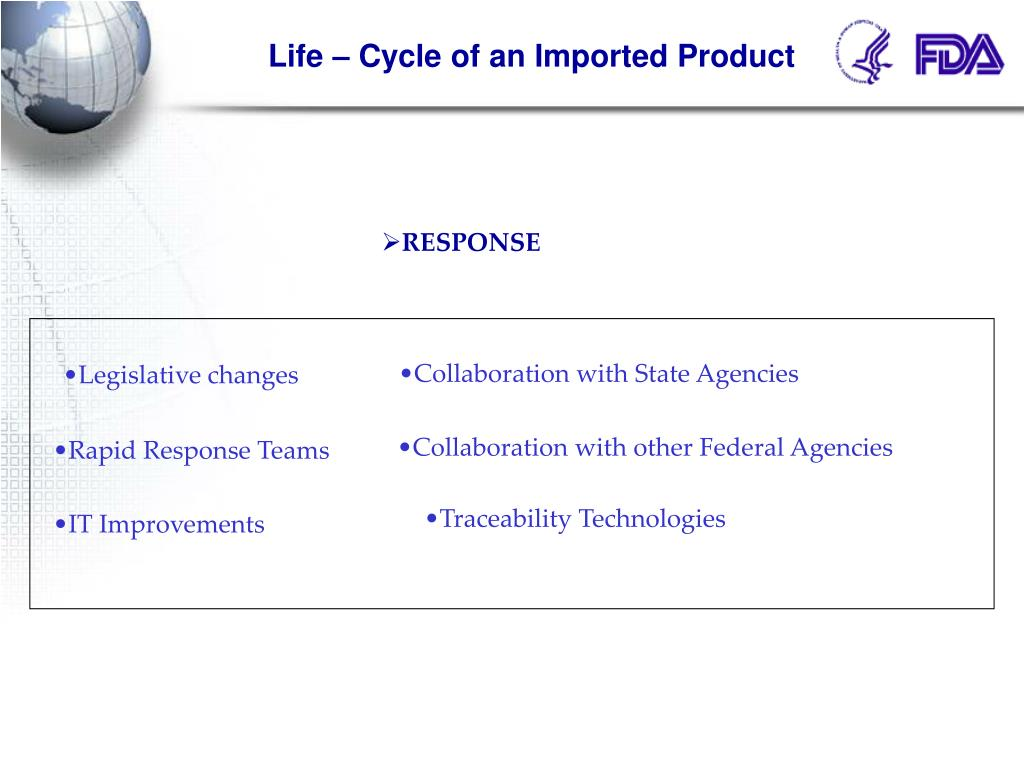 Life – Cycle of an Imported Product