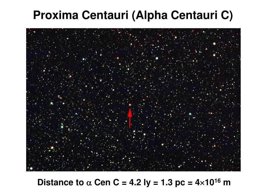 Proxima Centauri (Alpha Centauri C)
