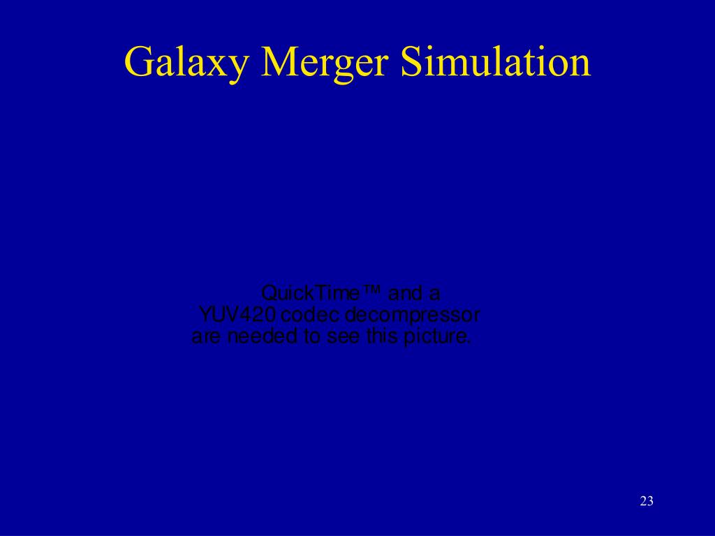 Galaxy Merger Simulation