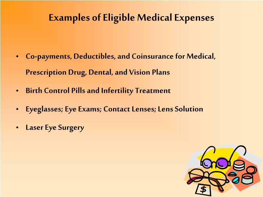 Examples of Eligible Medical Expenses