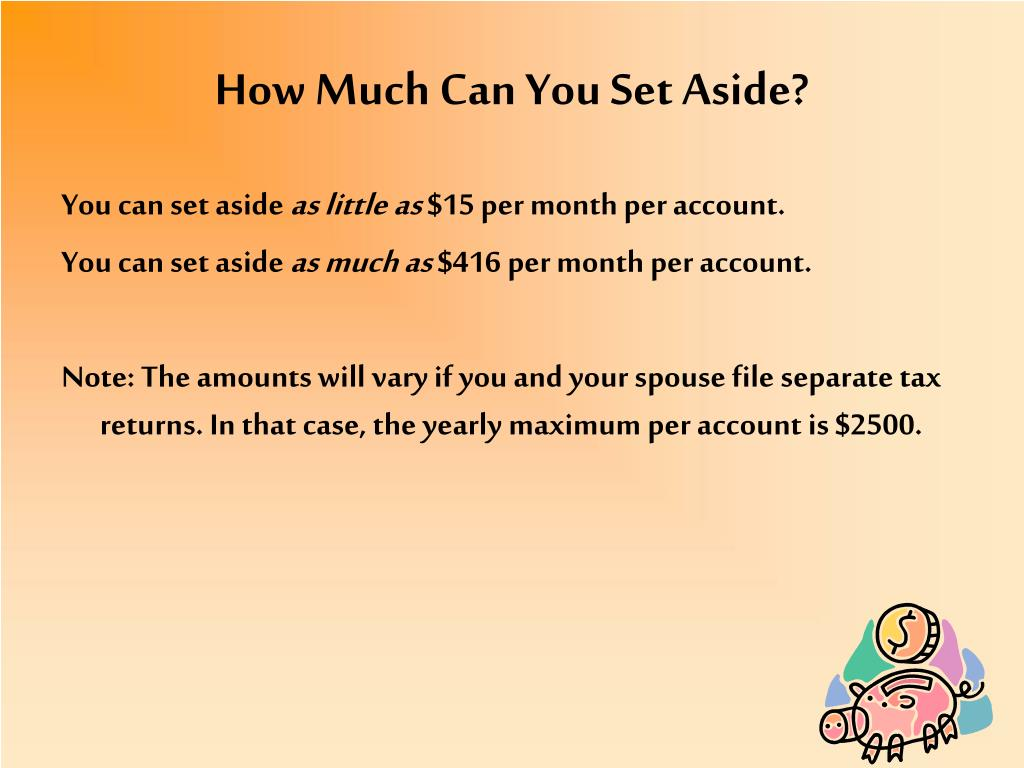 How Much Can You Set Aside?