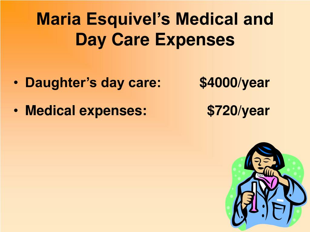 Maria Esquivel's Medical and Day Care Expenses
