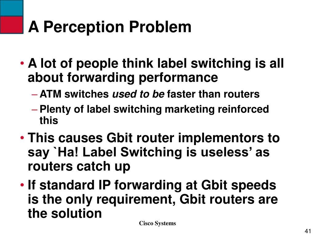 A Perception Problem