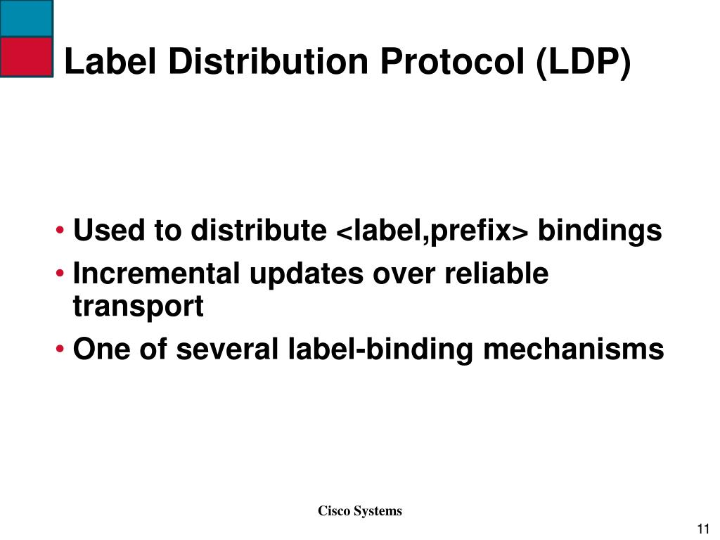 Label Distribution Protocol (LDP)