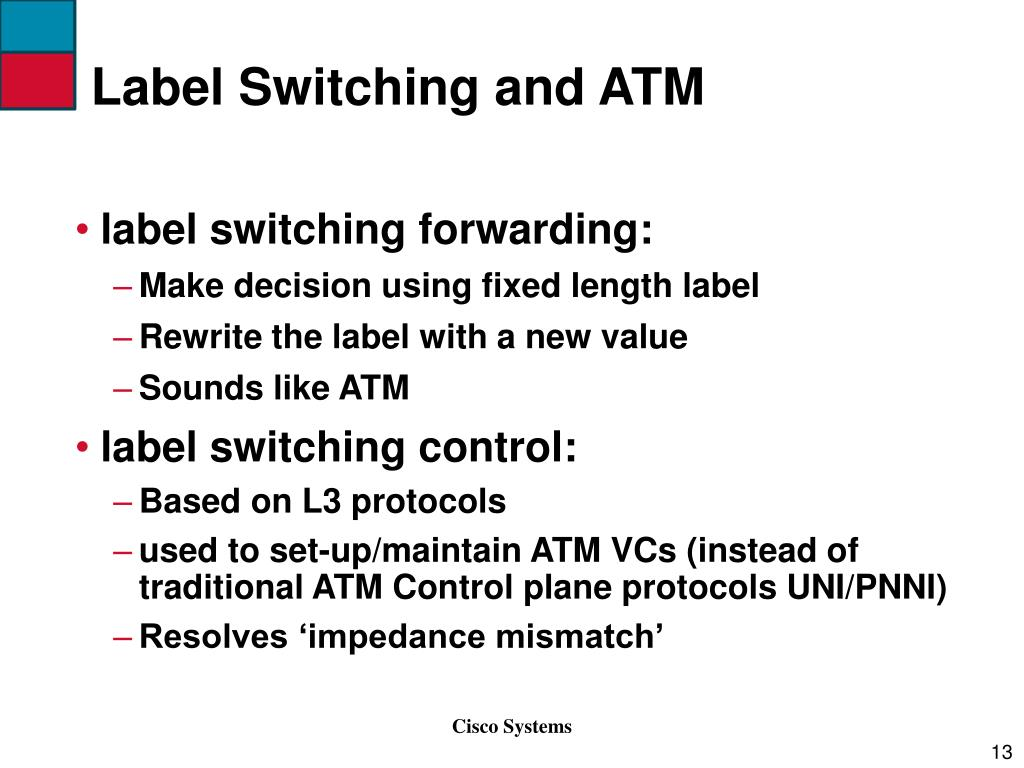 Label Switching and ATM