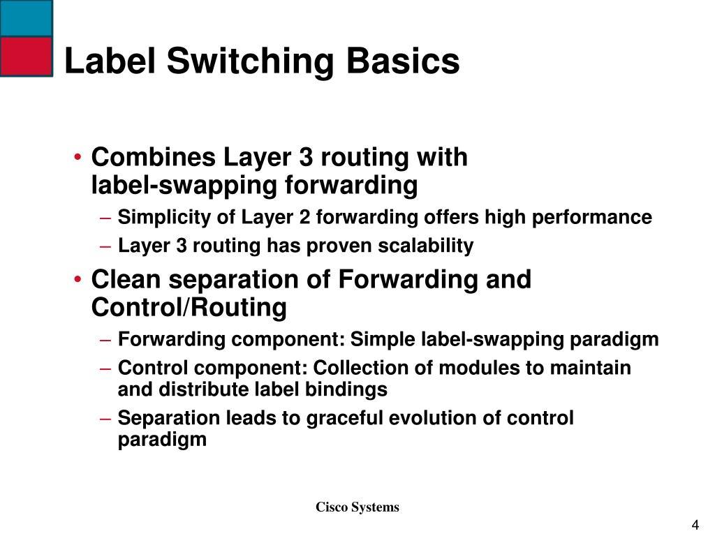 Label Switching Basics