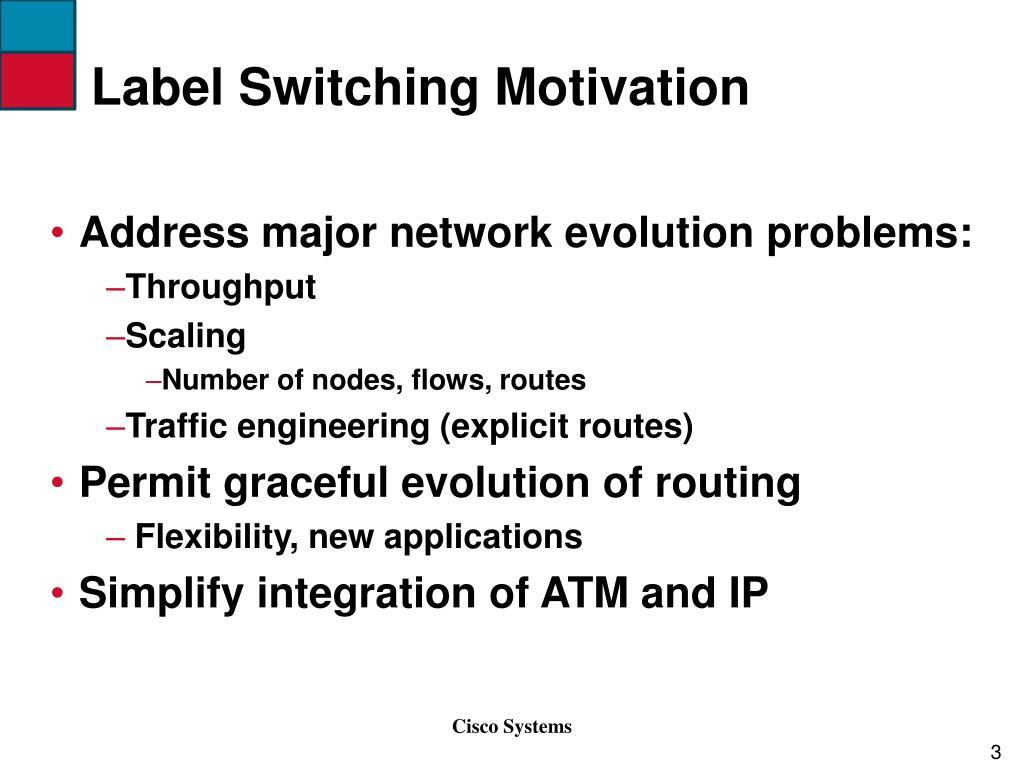 Label Switching Motivation