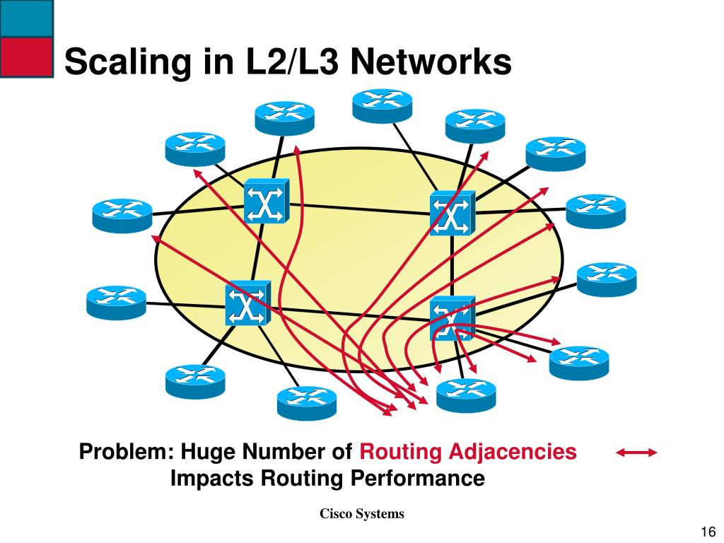 Scaling in L2/L3 Networks