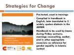 strategies for change8