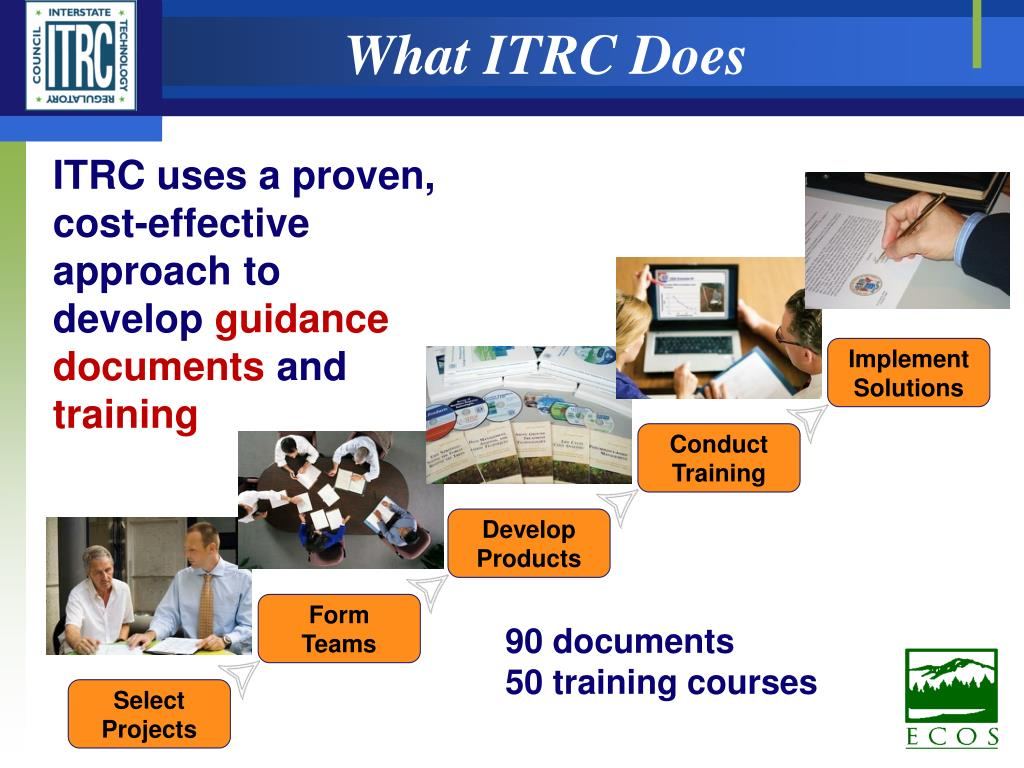 What ITRC Does