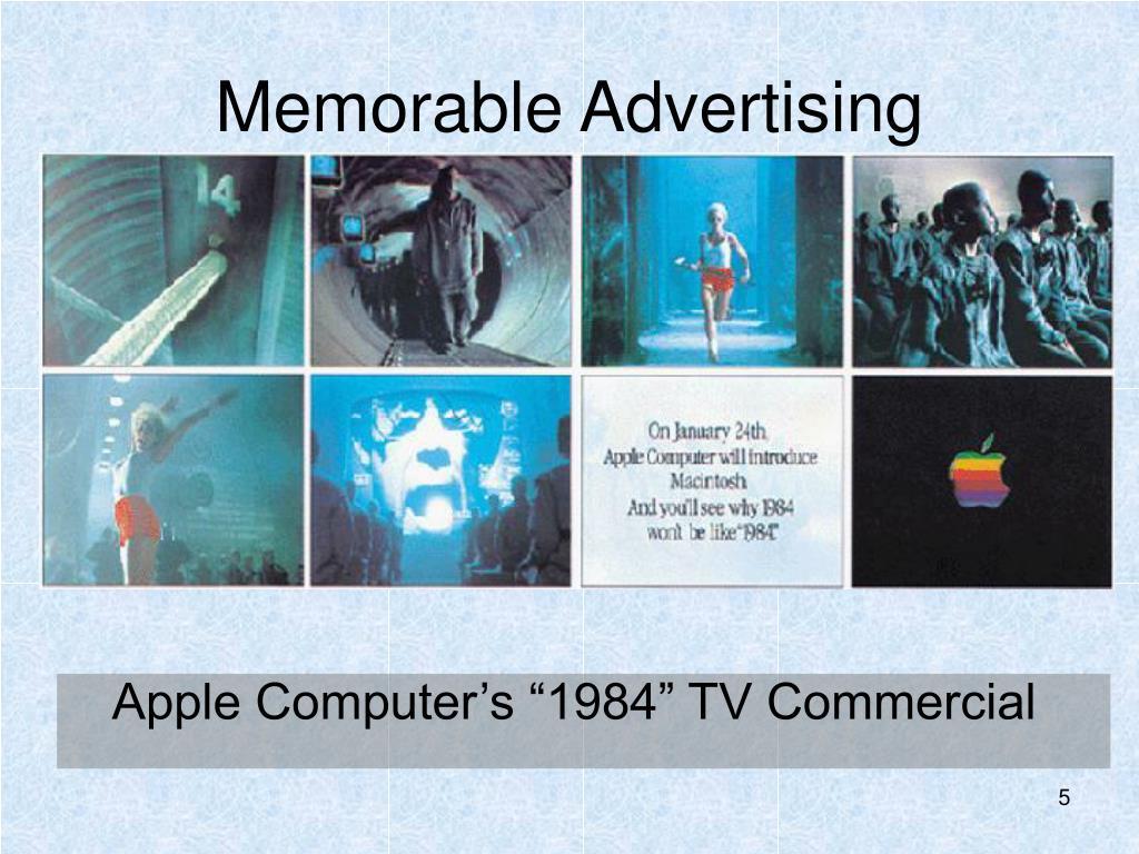 Memorable Advertising