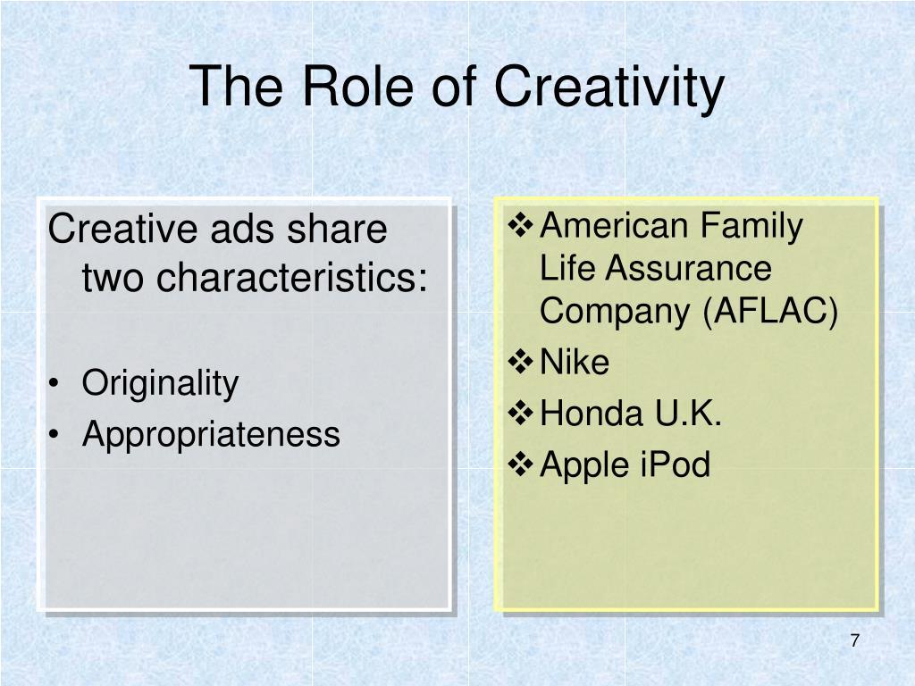 Creative ads share two characteristics: