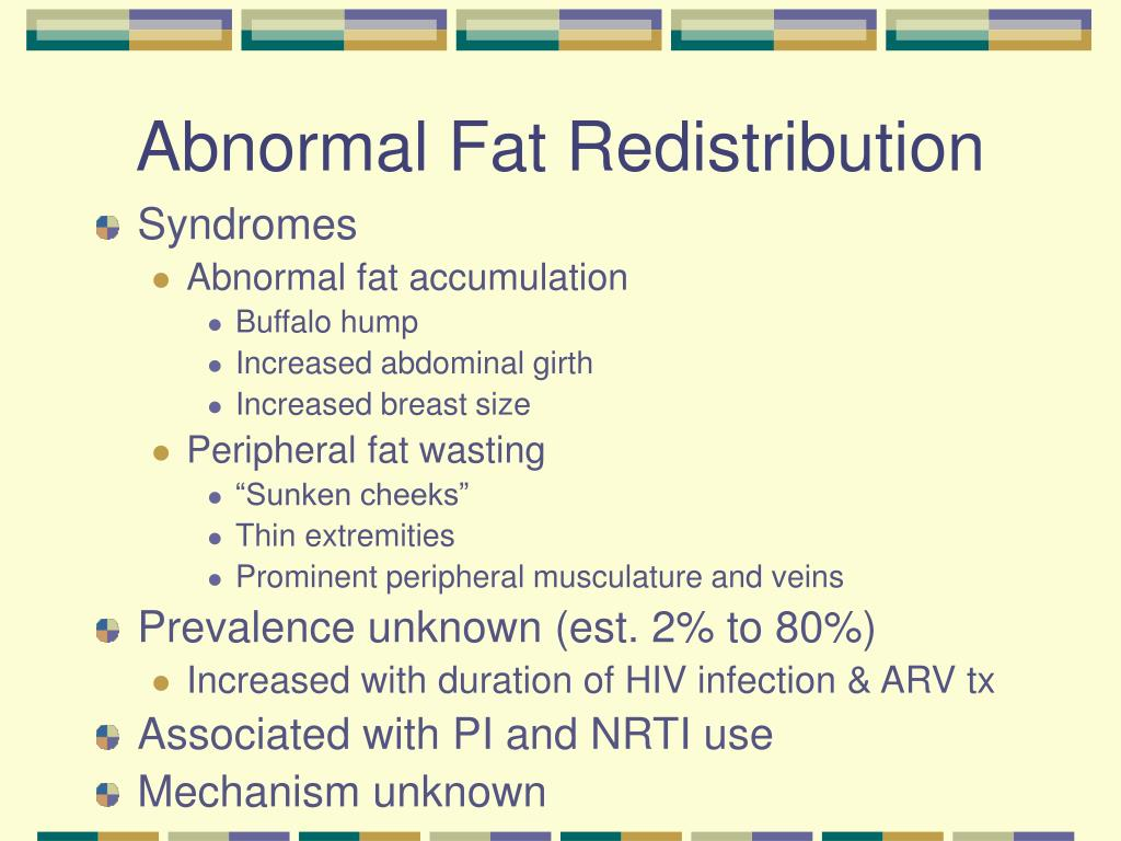 Abnormal Fat Redistribution