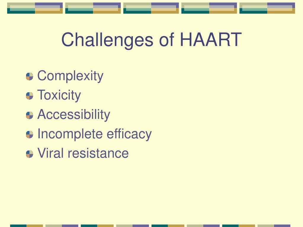 Challenges of HAART