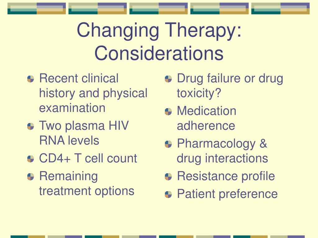 Recent clinical history and physical examination