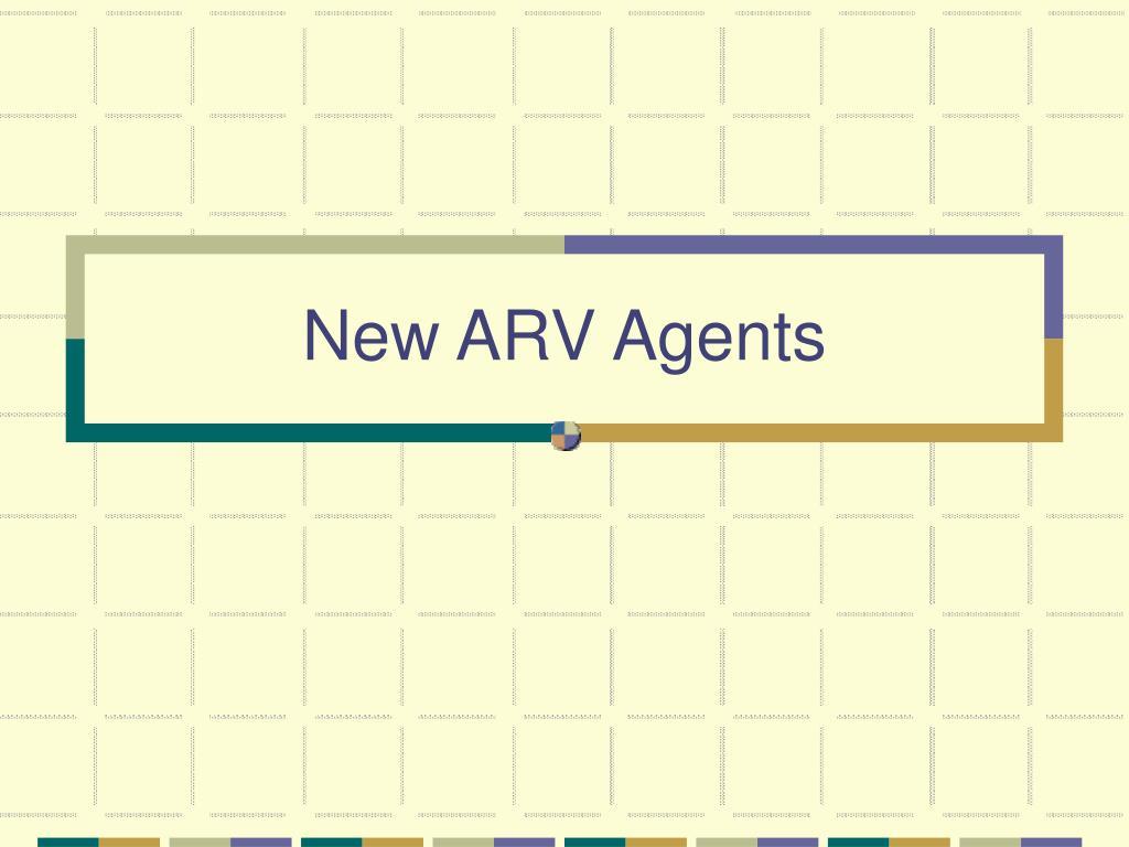 New ARV Agents