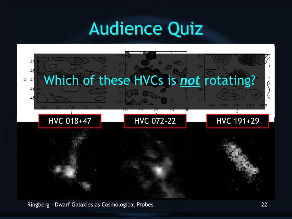 Audience Quiz