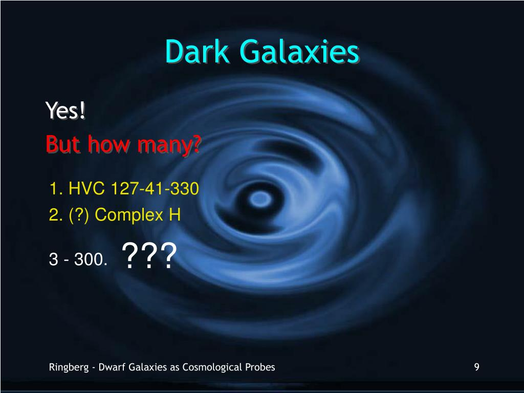 Dark Galaxies