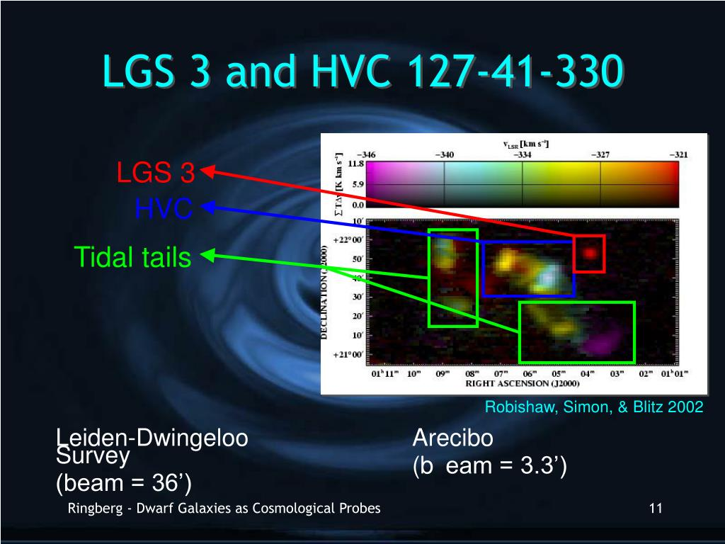 LGS 3 and HVC 127-41-330