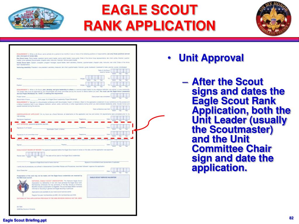 Unit Approval