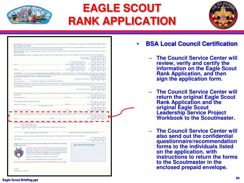 BSA Local Council Certification