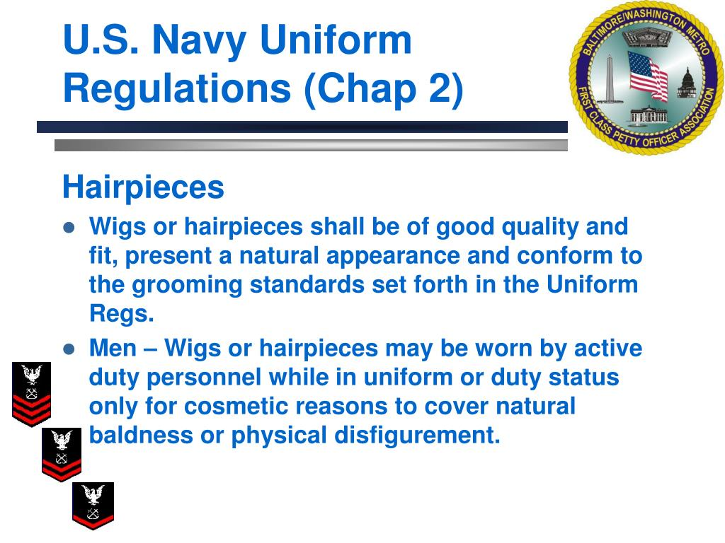U.S. Navy Uniform Regulations (Chap 2)