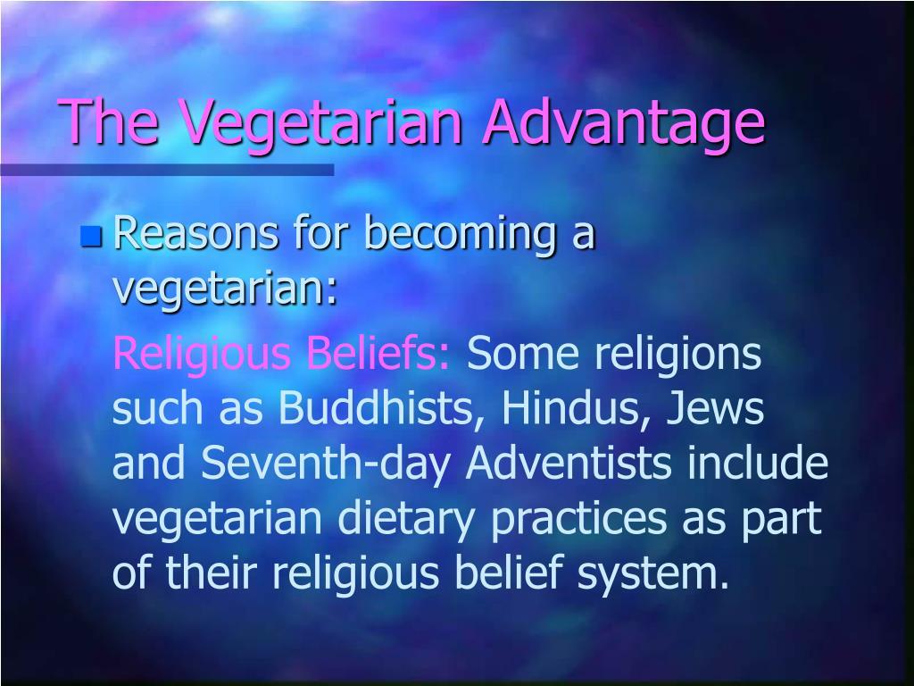 The Vegetarian Advantage