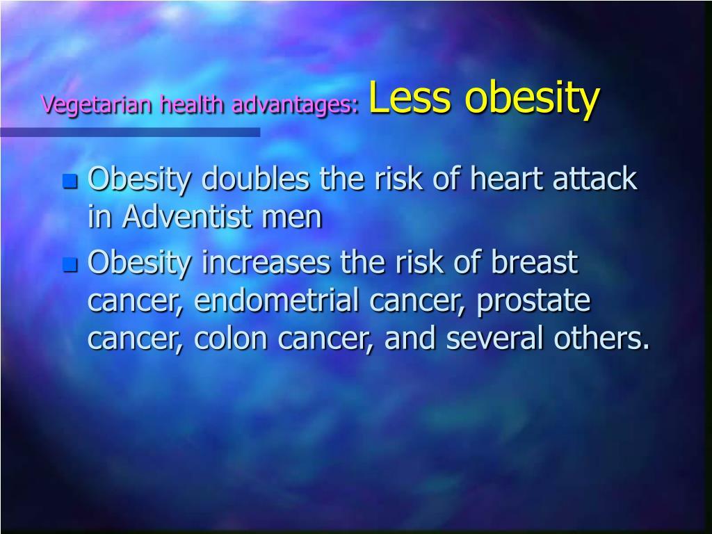 Vegetarian health advantages:
