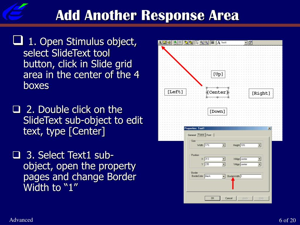 Add Another Response Area