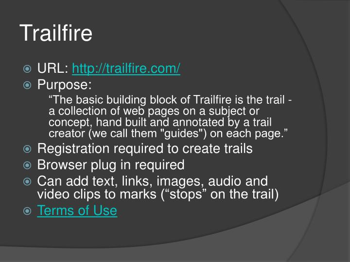 Trailfire