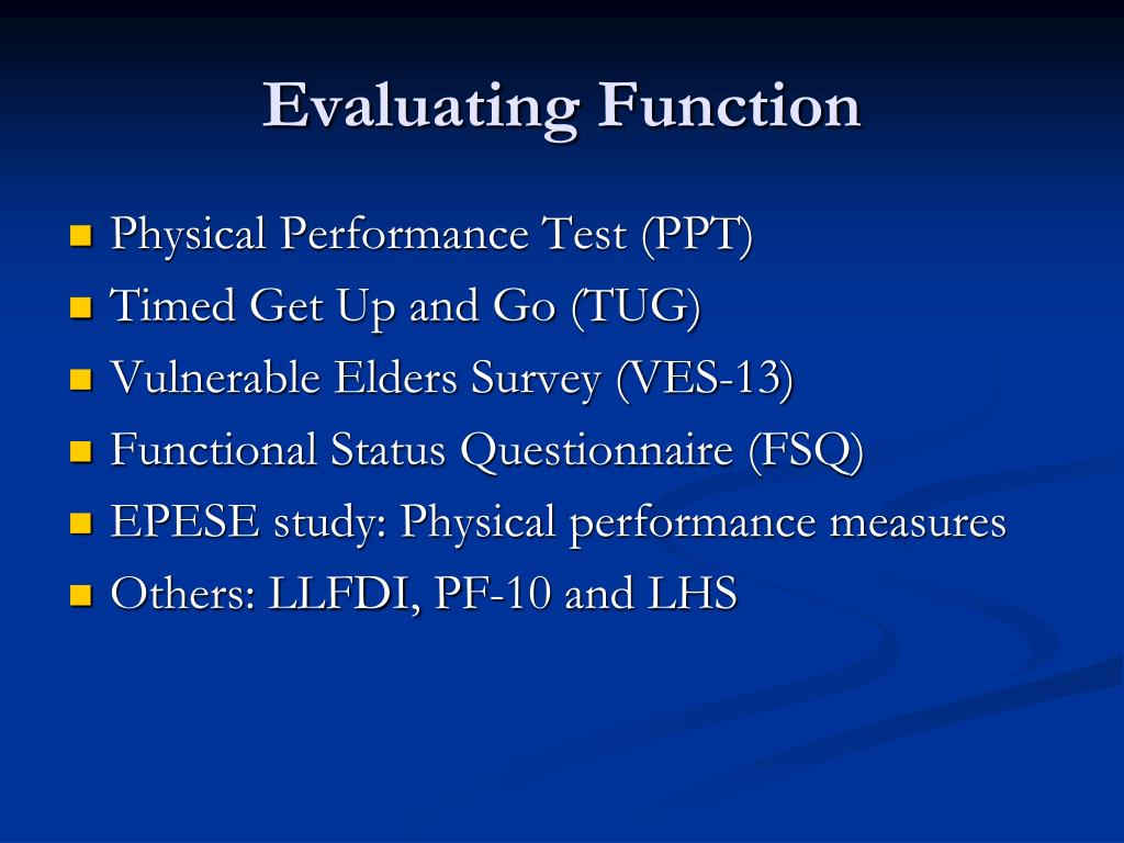 Evaluating Function