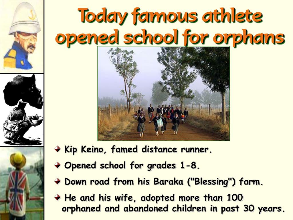 Today famous athlete opened school for orphans