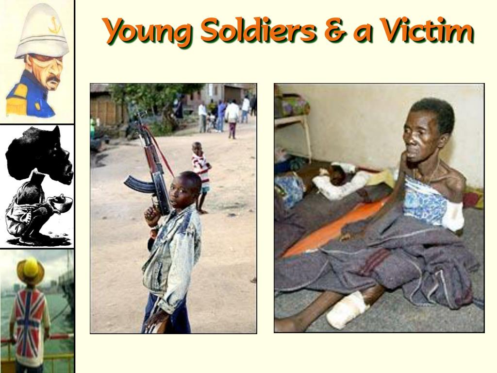 Young Soldiers & a Victim