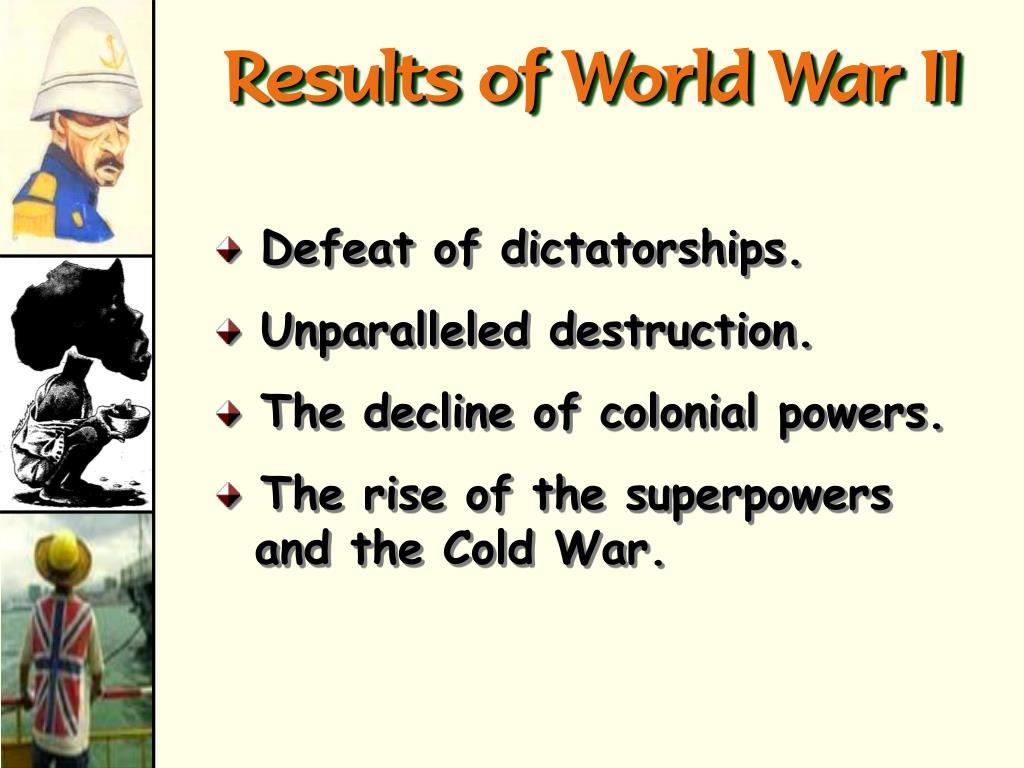Results of World War II